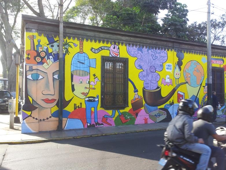 Streetart Barranco/Lima